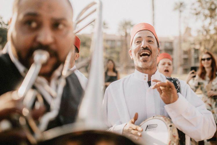 Wedding musicians at Egypt wedding