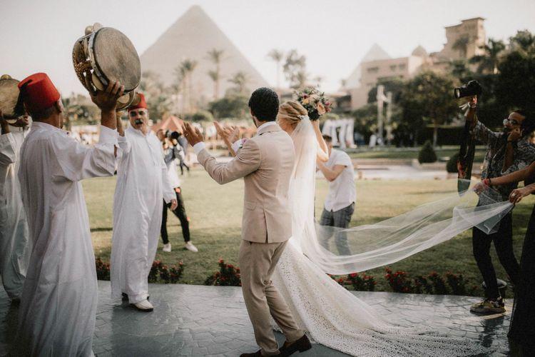Zaffa at Egypt wedding