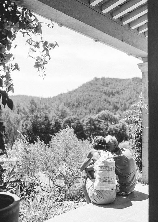 Outdoor Wedding at Commanderie de Peyrassol, Provence, France Styled by La Chuchoteuse   Lace Bridal Gown   Black Tie Suit   Rustic Stretch Tent Reception   Raisa Zwart Photography
