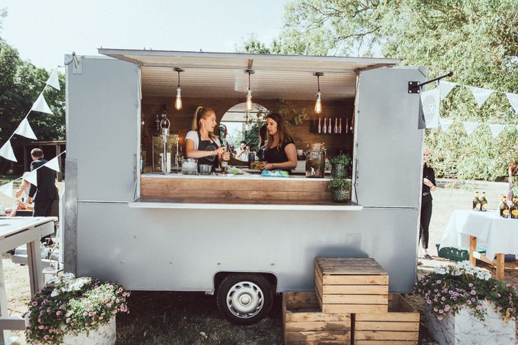 Gin Bar For Wedding // Images By The Vedrines