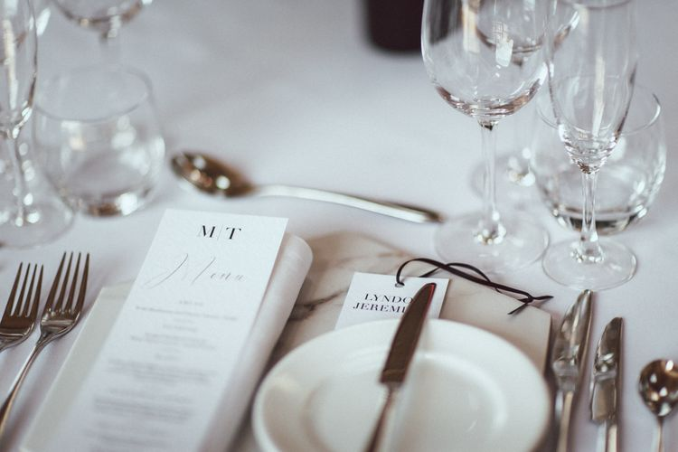 Elegant Wedding Stationery Suite // Images By The Vedrines