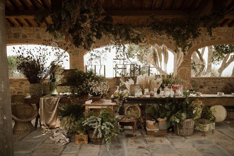 Sweet table at Italian wedding