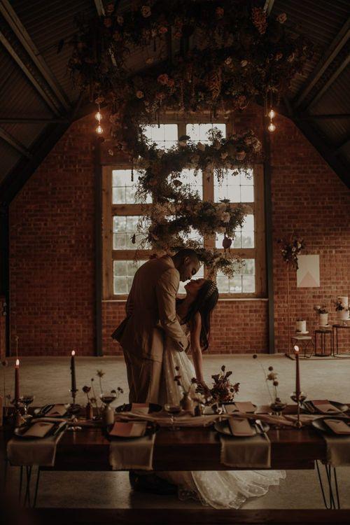 Romantic wedding portrait by Esme Whiteside Photography