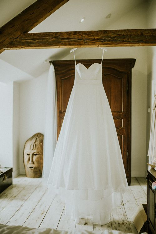 Augusta Jones Wedding Dress // Glasshouse Wedding At Anran In Devon // Image By Paige Grace Photography // Film By The Wild Bride