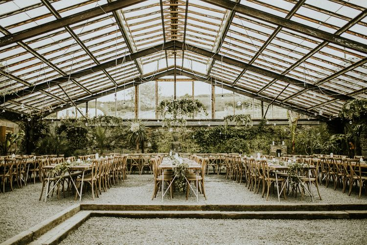 Glasshouse Wedding At Anran In Devon // Image By Paige Grace Photography // Film By The Wild Bride