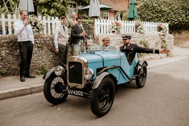 Austin 7 Ulster Car // Image By Green Antlers Photography
