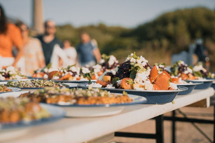 Sharing Style Food For Weddings From Woodfired Weddings