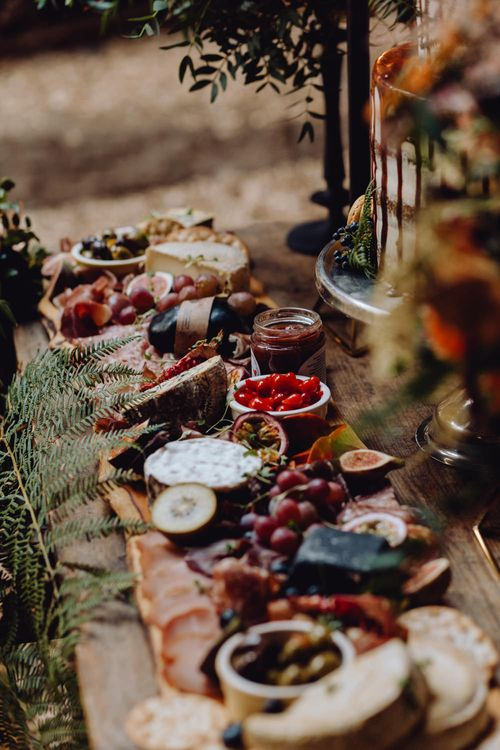 Grazing Board Style Food For Wedding