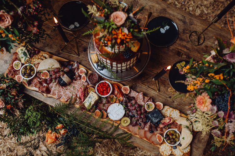 Grazing Tables | Grazing Boards | Food Platter | Wedding Catering | The Garden Chef | Brigitte Thierry Photography