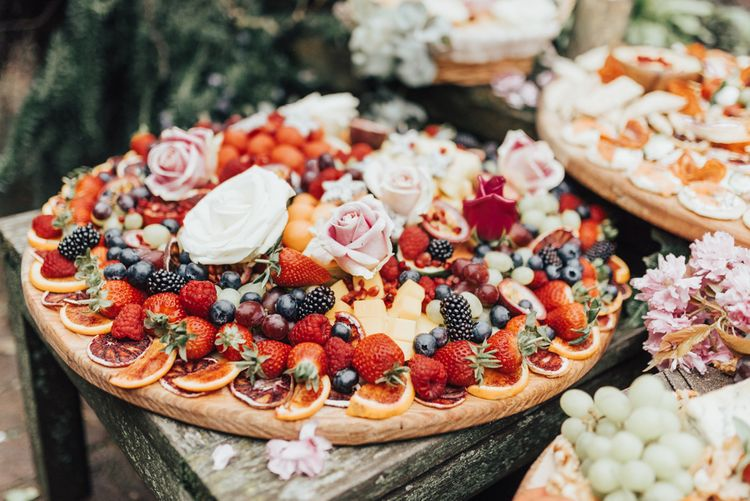 Grazing Tables | Grazing Boards | Food Platter | Wedding Catering | Rebecca Carpenter Photography