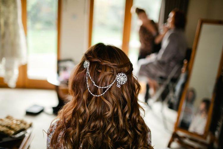 Chain Bridal Hair Accessory