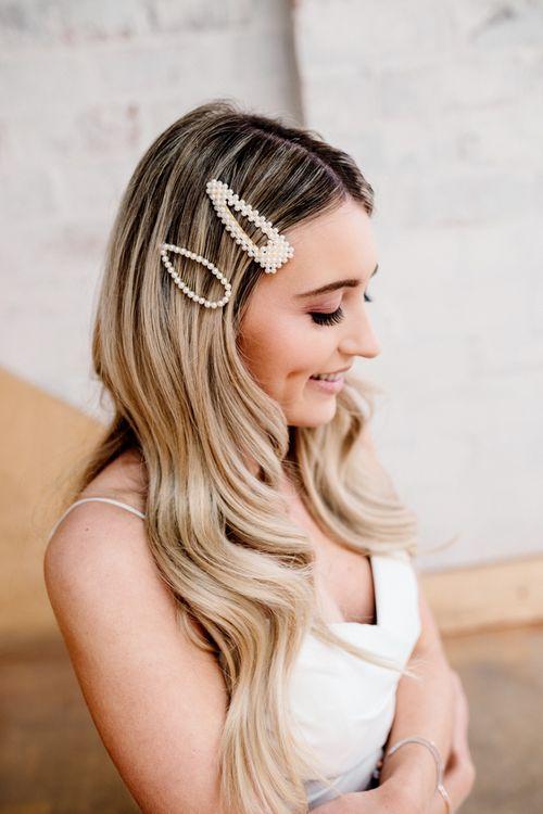 Oversized Bridal Hair Clips