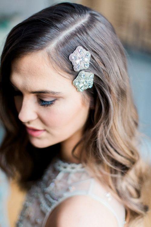 Star Wedding Hair Clips