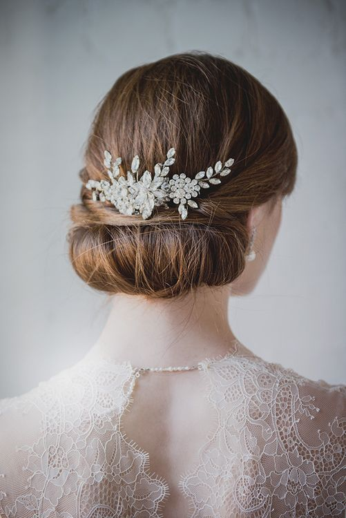 Auburn Bride with Updo