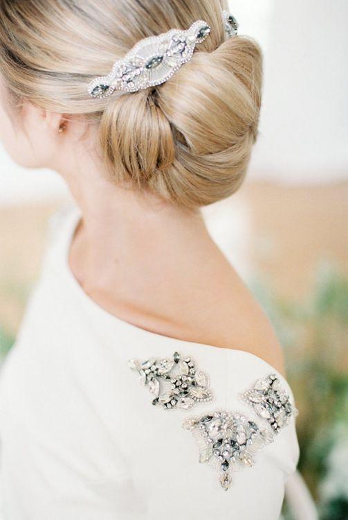 Bride with Off Shoulder Dress