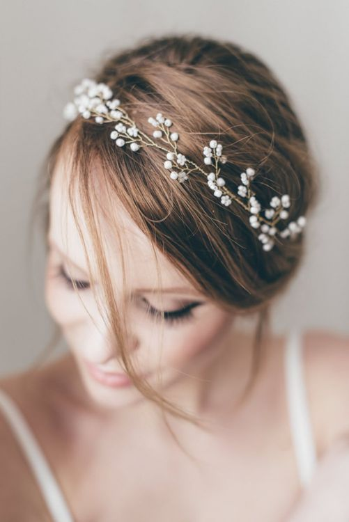 Delicate Bridal Hair Vine