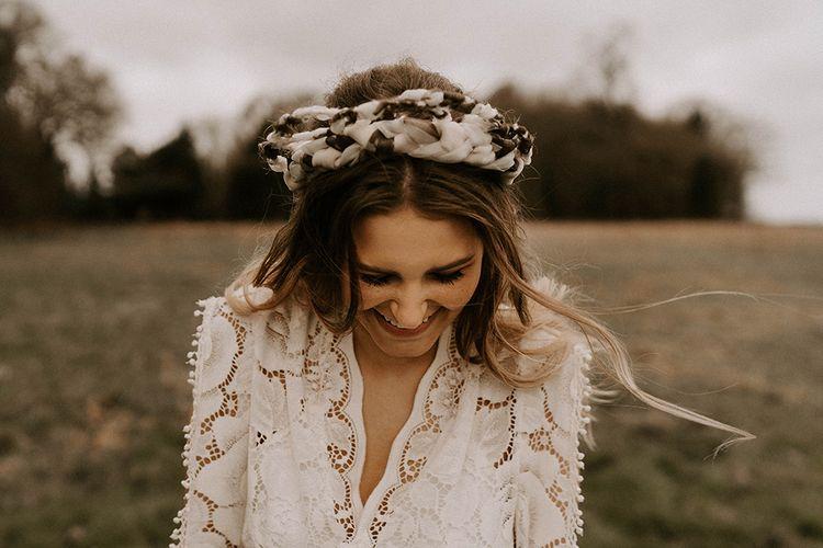 Statement Bridal Headband