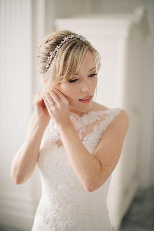 Delicate Wedding Hairband