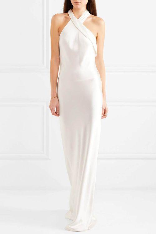 Halterneck Wedding Dress By Galvan