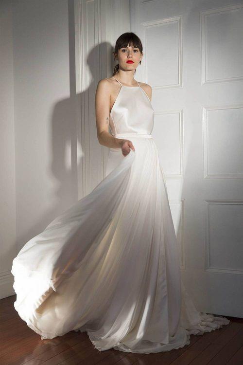 Halterneck Wedding Dress By Halfpenny London