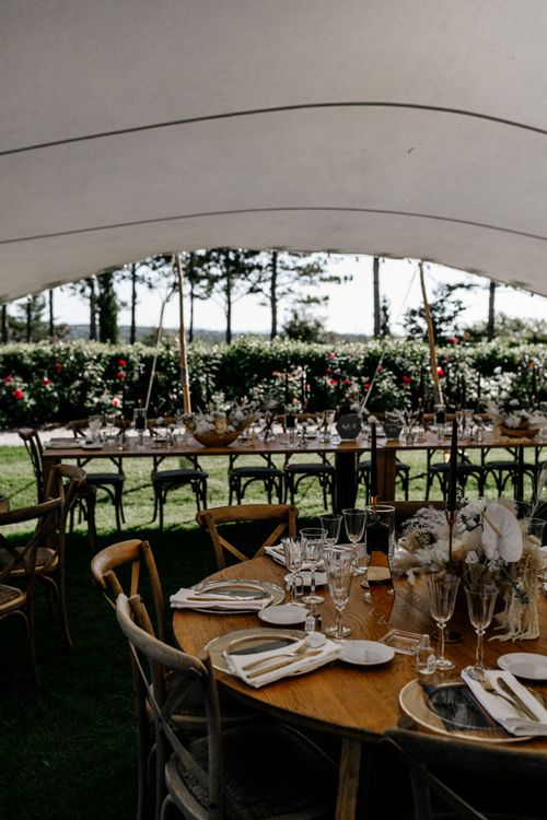 Stretch Tent Marquee Reception