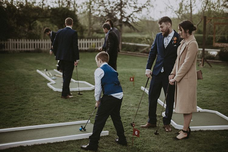 Crazy Golf Wedding Garden Games