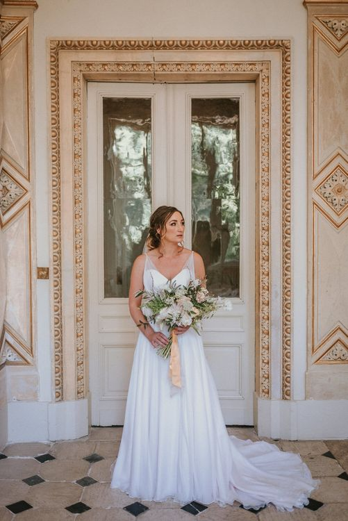 Naomi Neoh gown bridal portrait| Bespoke Planning and Styling by Helaina Storey Wedding Design | Image by Alice Cunliffe Photography