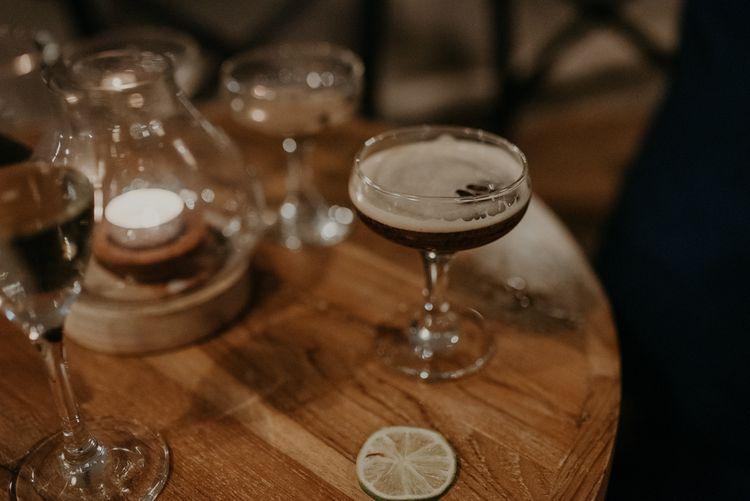Expresso Martini wedding cocktail