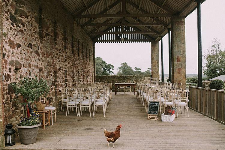 Rustic Barn & Tipi Wedding at High House Farm Brewery, Northumberland | Maureen du Preez Photography