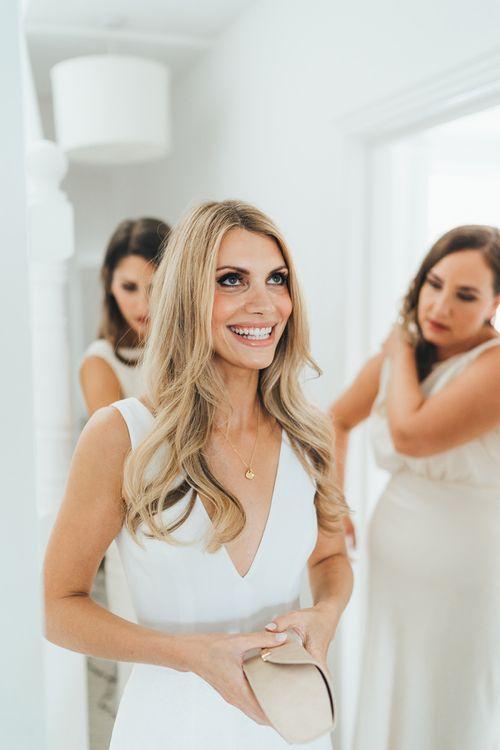 Bridal Preparations Hair Down and Bridal Beauty