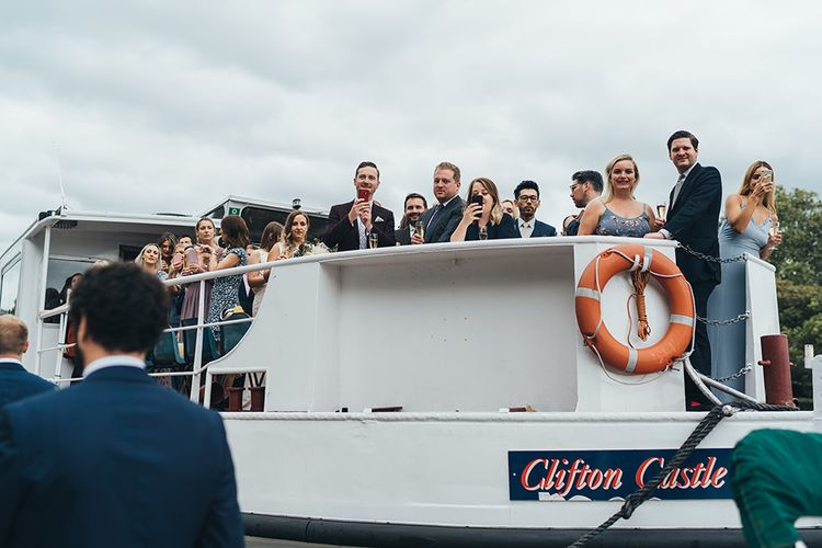 Boat Trip for Guests to Reception Venue In Richmond