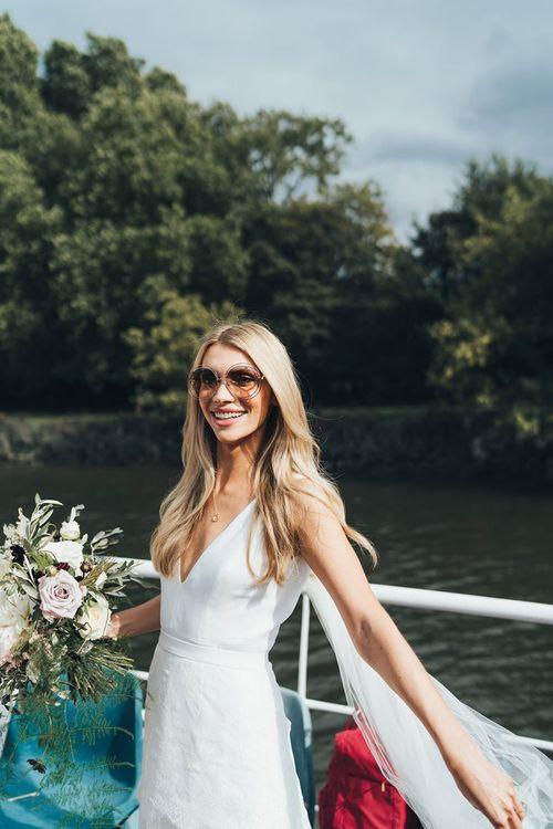 Bride in Chloe Sunglasses