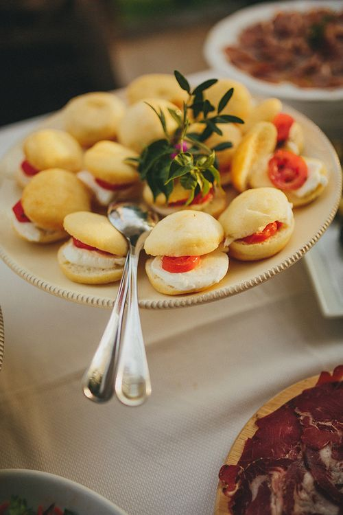 Wedding Catering | Brightly Coloured Destination Wedding at Masseria Potenti Wedding Venue, Puglia, South Italy | Petar Jurica Photography | Marco Odorino Film