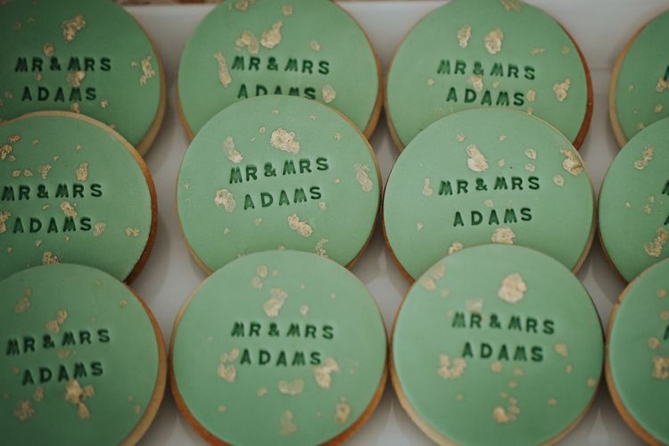 Personalised Wedding Biscuits For Favours