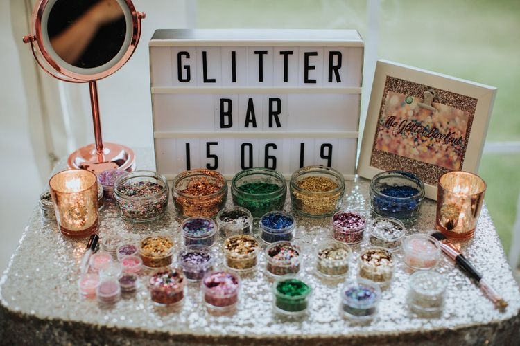 Glitter Bar Wedding Entertainment