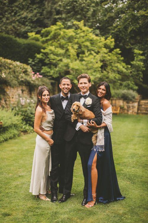 Wedding Party in Black Tie Attire