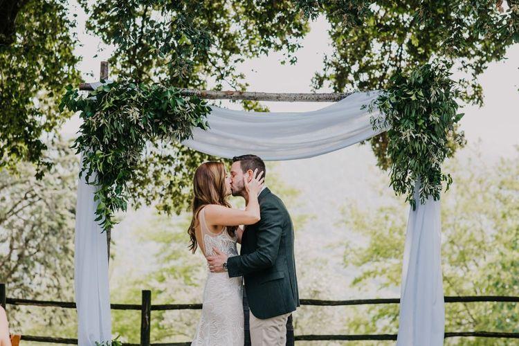 Wedding arch for Italian wedding