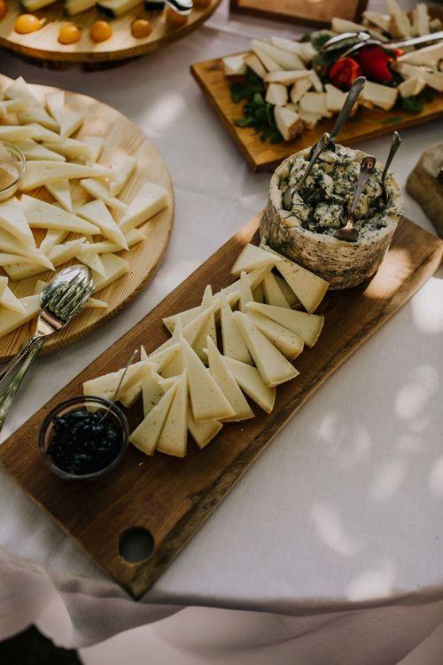 Wedding food at Italian wedding
