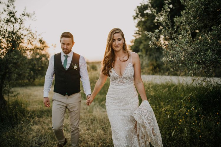 Made With Love Bridal dress with lace detail