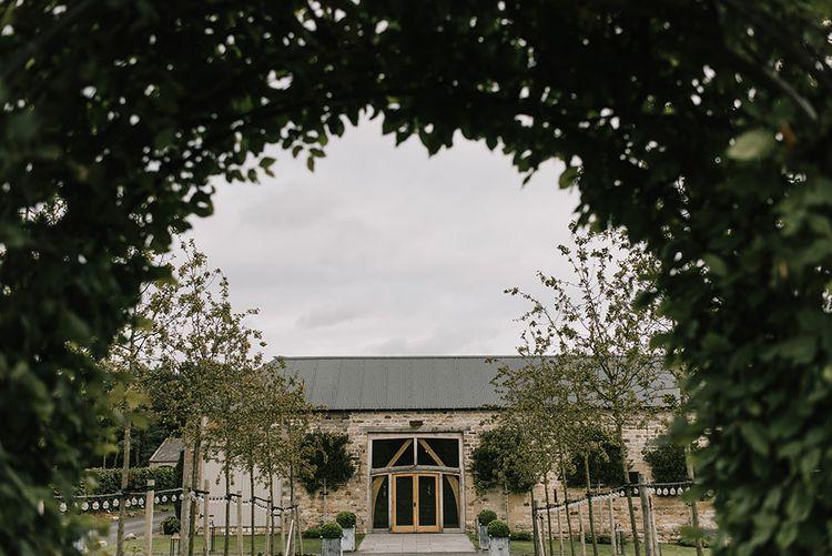 Healey Barn Wedding Venue | Healey Barn Countryside Wedding with Wild Flowers and Bride in Pronovias | Georgina Harrison Photography