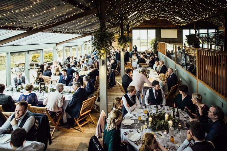 Wedding Reception at Stone Barn Cotswolds
