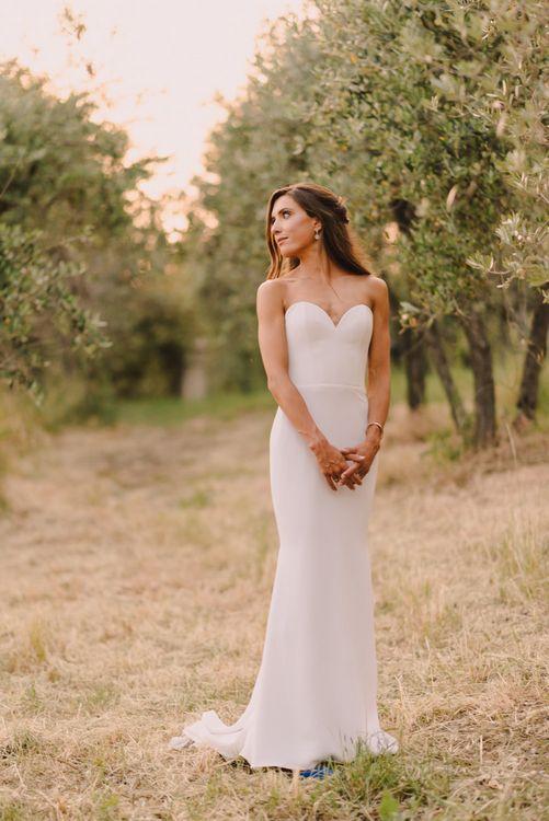 Elegant Bride Dress with Sweetheart Neckline
