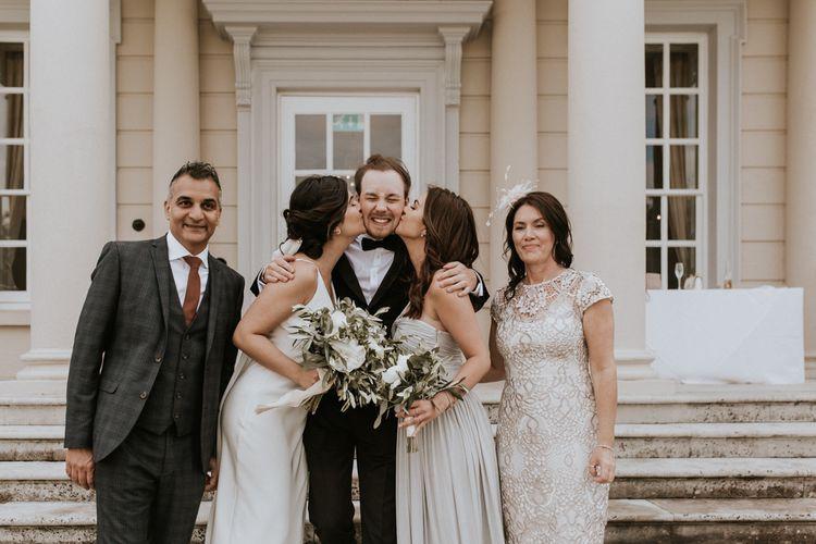 Brides Family Portrait