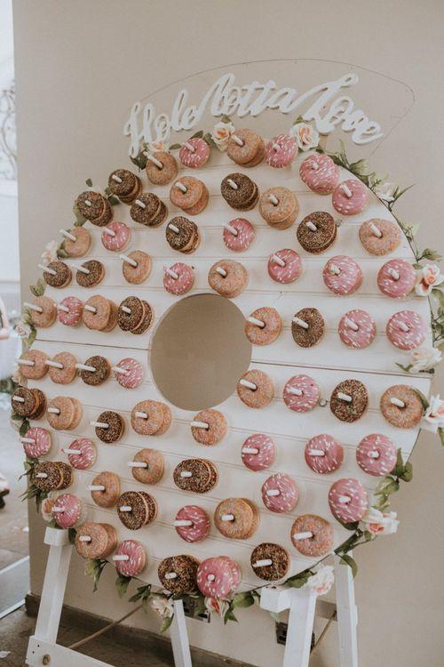 Hole Lotta Love Round Ring Doughnut Wall