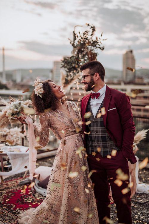 Wedding portrait by Martina Skrobot Photography