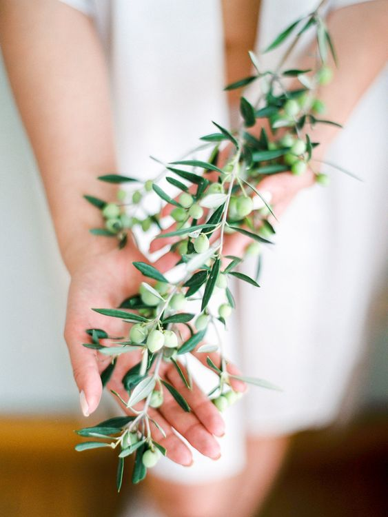 Olive Branch | Pastel Blue & Green, Romantic, Destination Wedding at Corfu Luxury Villas, Planned by Rosmarin Weddings & Events | Mikhail Balygin Fine Art Wedding Photographer