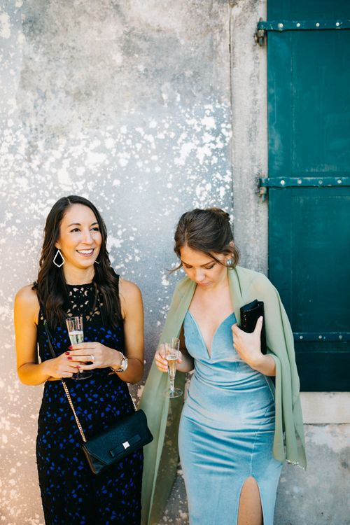 Wedding Guests | Pastel Blue & Green, Romantic, Destination Wedding at Corfu Luxury Villas, Planned by Rosmarin Weddings & Events | Mikhail Balygin Fine Art Wedding Photographer