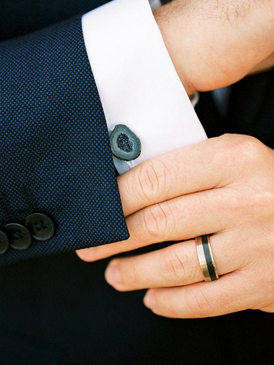 Groom Accessories & Navy Tuxedo | Pastel Blue & Green, Romantic, Destination Wedding at Corfu Luxury Villas, Planned by Rosmarin Weddings & Events | Mikhail Balygin Fine Art Wedding Photographer