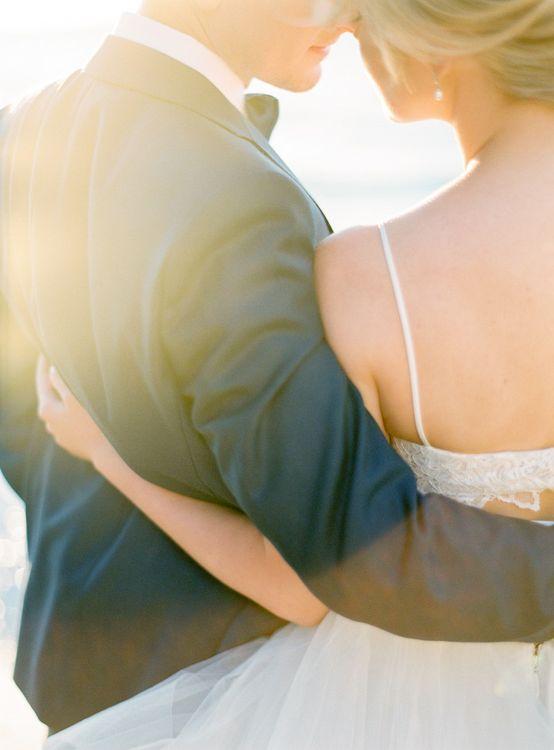 Bride in Coloured Hayley Paige Wedding Dress | Groom in Black Tie Suit | Pastel Blue & Green, Romantic, Destination Wedding at Corfu Luxury Villas, Planned by Rosmarin Weddings & Events | Mikhail Balygin Fine Art Wedding Photographer