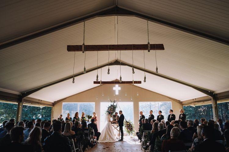 Wedding Ceremony at Haycroft Farm In South Africa